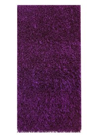 ECO003 Dark Purple Eco Shaggy Rugs