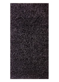 ECO007 Black Eco Shaggy Rugs