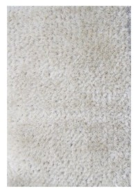 ECO008 White Eco Shaggy Rugs