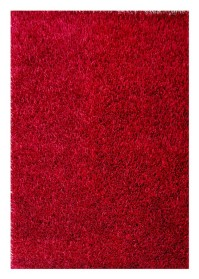 ECO010 Dark Red Eco Shaggy Rugs