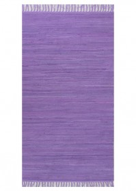 FLA002 Aubergine Flairs Cotton Rugs