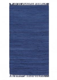 FLA005 Blue Flairs Cotton Rugs